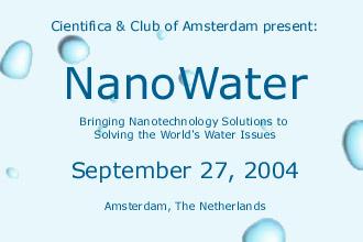 NanoWater Amsterdam 2004